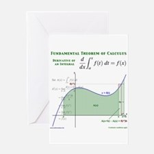 Fundamental Theorem of Calculus Greeting Card