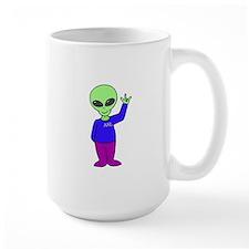 Aliens would use ASL, too! Mug