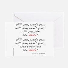 Carroll on Dance Greeting Card