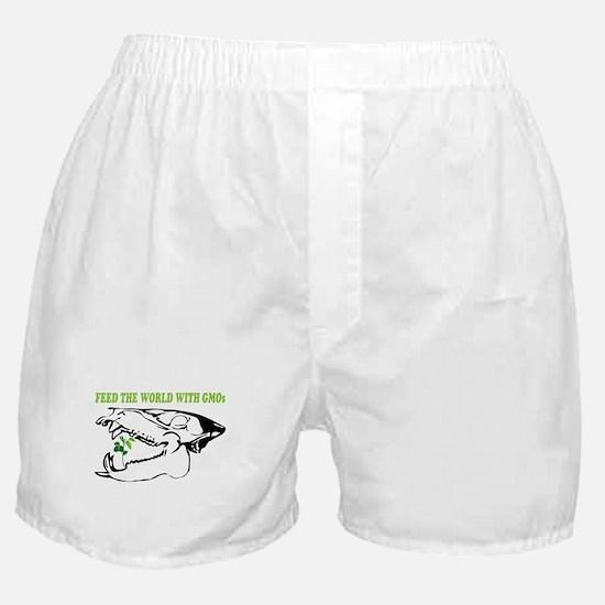 feed the world Boxer Shorts