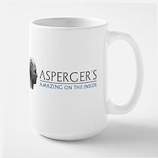 Asperger's Amazing Head Mugs