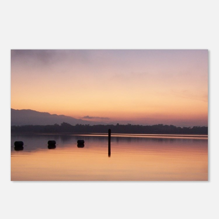 Rio Dulce Sunrise Postcards (Package of 8)