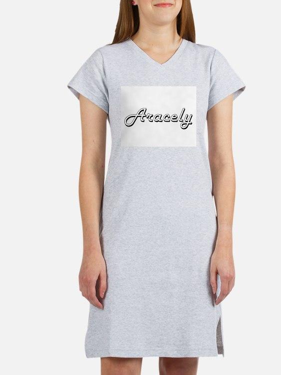 Aracely Classic Retro Name Desi Women's Nightshirt