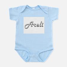 Areli Classic Retro Name Design Body Suit