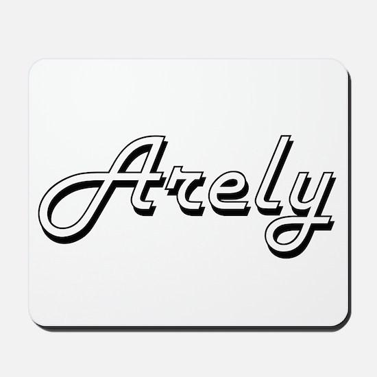 Arely Classic Retro Name Design Mousepad
