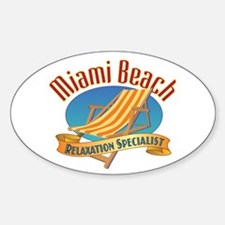 Miami Beach - Decal