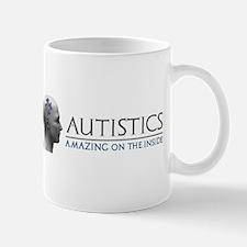 Autistics Amazing Head Mugs