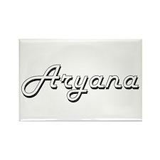 Aryana Classic Retro Name Design Magnets