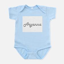 Aryanna Classic Retro Name Design Body Suit