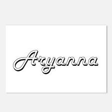 Aryanna Classic Retro Nam Postcards (Package of 8)