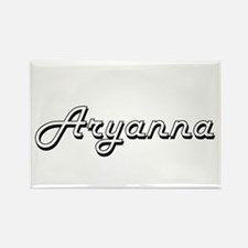 Aryanna Classic Retro Name Design Magnets