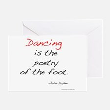 Dryden on Dance Greeting Card