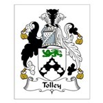 Tolley Family Crest Small Poster