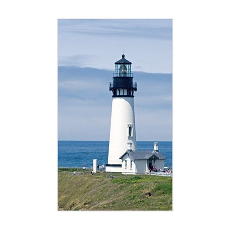 Yaquina Lighthouse Rectangle Sticker