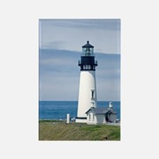 Yaquina Lighthouse Rectangle Magnet