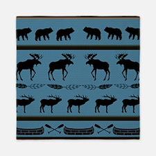 Funny Elk Queen Duvet