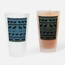 Unique Cabins Drinking Glass