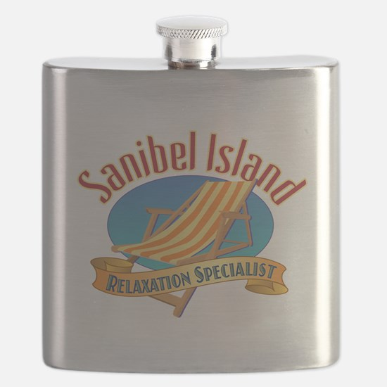 Sanibel Island Relax - Flask