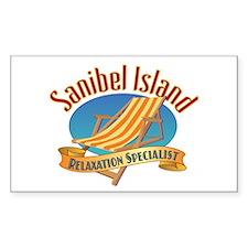 Sanibel Island Relax - Decal