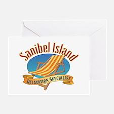 Sanibel Island Relax - Greeting Card