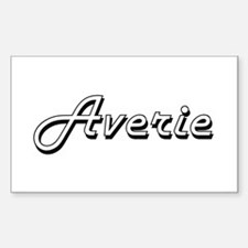 Averie Classic Retro Name Design Decal