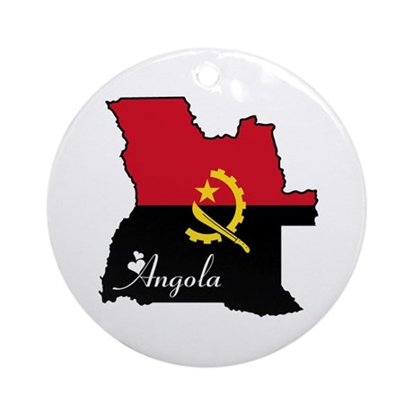 Cool Angola Ornament (Round)