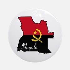 Cool Angola Ornament (Round)