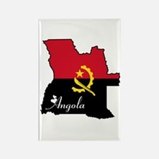 Cool Angola Rectangle Magnet