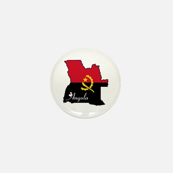 Cool Angola Mini Button
