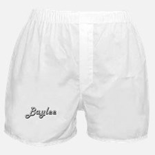 Baylee Classic Retro Name Design Boxer Shorts