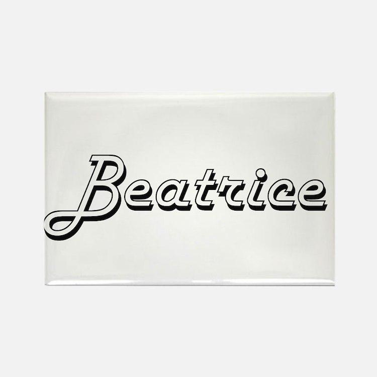 Beatrice Classic Retro Name Design Magnets