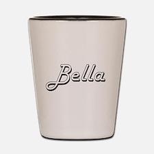Bella Classic Retro Name Design Shot Glass