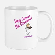 HERE COMES THE GRANDMA Mug
