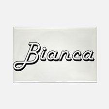 Bianca Classic Retro Name Design Magnets