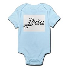 Bria Classic Retro Name Design Body Suit