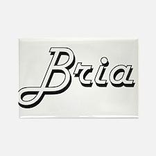 Bria Classic Retro Name Design Magnets