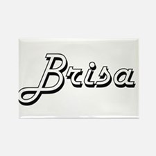 Brisa Classic Retro Name Design Magnets