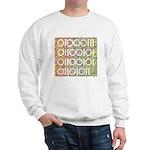 Geek in Binary Code Sweatshirt