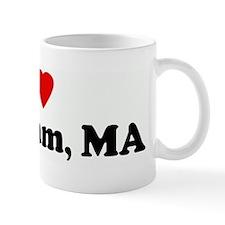 I Love Waltham, MA Mug