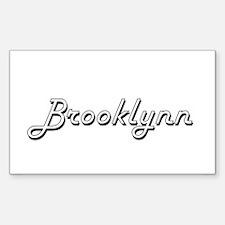 Brooklynn Classic Retro Name Design Decal