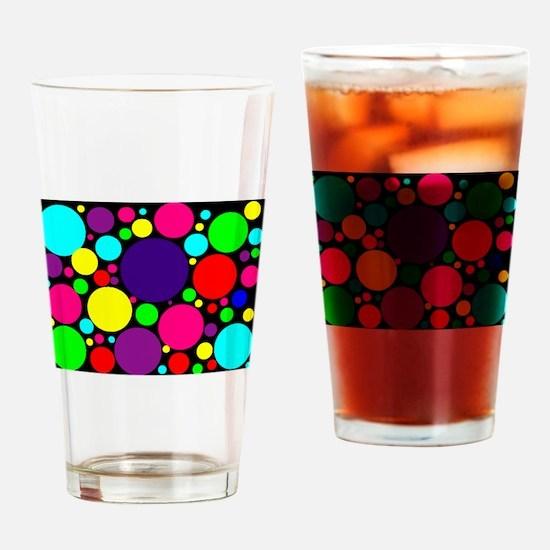 Unique Multi colored Drinking Glass