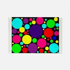 Cute Bright colored Rectangle Magnet