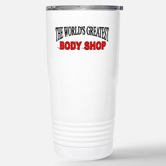 """The World's Greatest Body Shop"" Mugs"