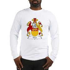 Titus Family Crest Long Sleeve T-Shirt