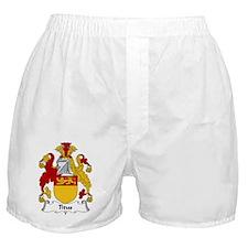Titus Family Crest Boxer Shorts