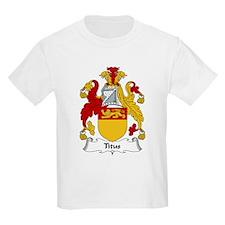 Titus Family Crest T-Shirt