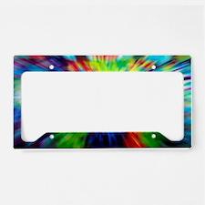 Funny Dye License Plate Holder