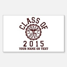 Class of 2015 LPN Decal