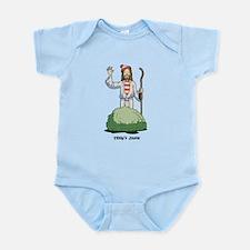 There's Jesus! Infant Bodysuit