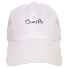 Camilla Classic Retro Name Design Baseball Cap